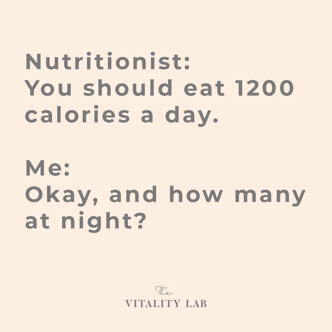 The Vitality Lab - gewichtsconsulent Den Haag - calorieën