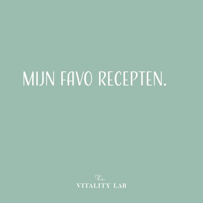 The Vitality Lab - gewichtsconsulent Den Haag - favo recepten